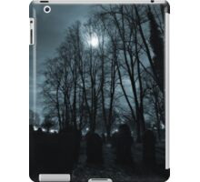 blue moon iPad Case/Skin