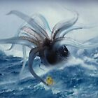 Giant Squid & Duck by Cliff Vestergaard
