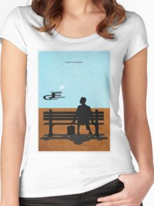 Forrest Gump Women's Fitted Scoop T-Shirt