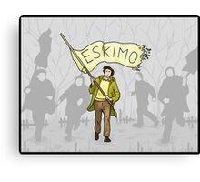 Eskimo Canvas Print