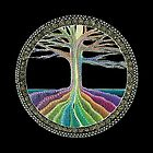 Chakra Tree Mandala by Laural Virtues Wauters