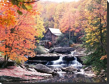 Old Mill by Kara Rountree