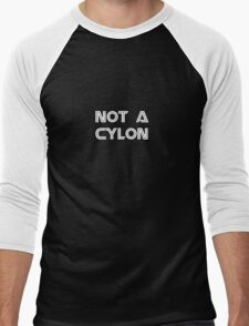 Not a Cylon Men's Baseball ¾ T-Shirt