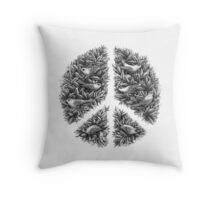 Peace Naturalis Throw Pillow