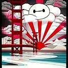 San Fransokyo,home of the Baymax by filippobassano