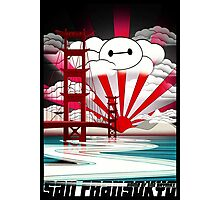 San Fransokyo,home of the Baymax Photographic Print