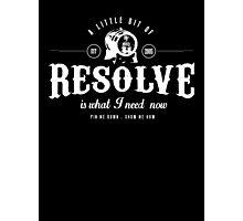 Foo Fighters Lyrics - Resolve - Typographic Photographic Print