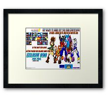 Kid Soldier PCA 6 Game Promo Picture  Framed Print