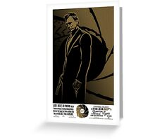 Quantum Of Solace. Greeting Card