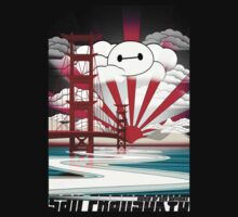 San Fransokyo,home of the Baymax One Piece - Long Sleeve