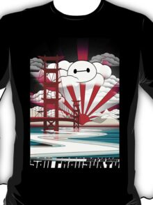 San Fransokyo,home of the Baymax T-Shirt