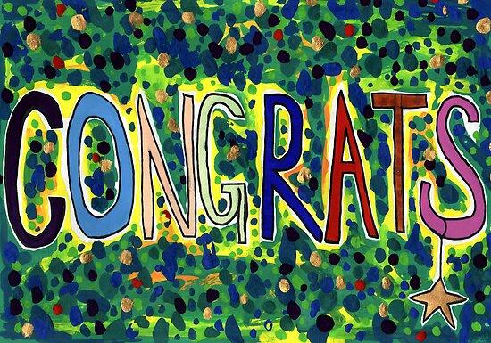 Congrats by John Douglas