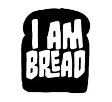 I am Bread 'mono' logo - Official Merchandise by BossaStudios