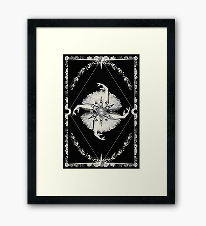 LOVELESS Framed Print