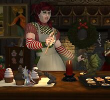 December, Seasons of the Witch: Kitchen Witchery by MichelleIacona