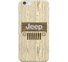 Wooden Jeep Willys [Update] iPhone Case/Skin