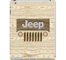 Wooden Jeep Willys [Update] iPad Case/Skin