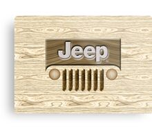 Wooden Jeep Willys [Update] Metal Print