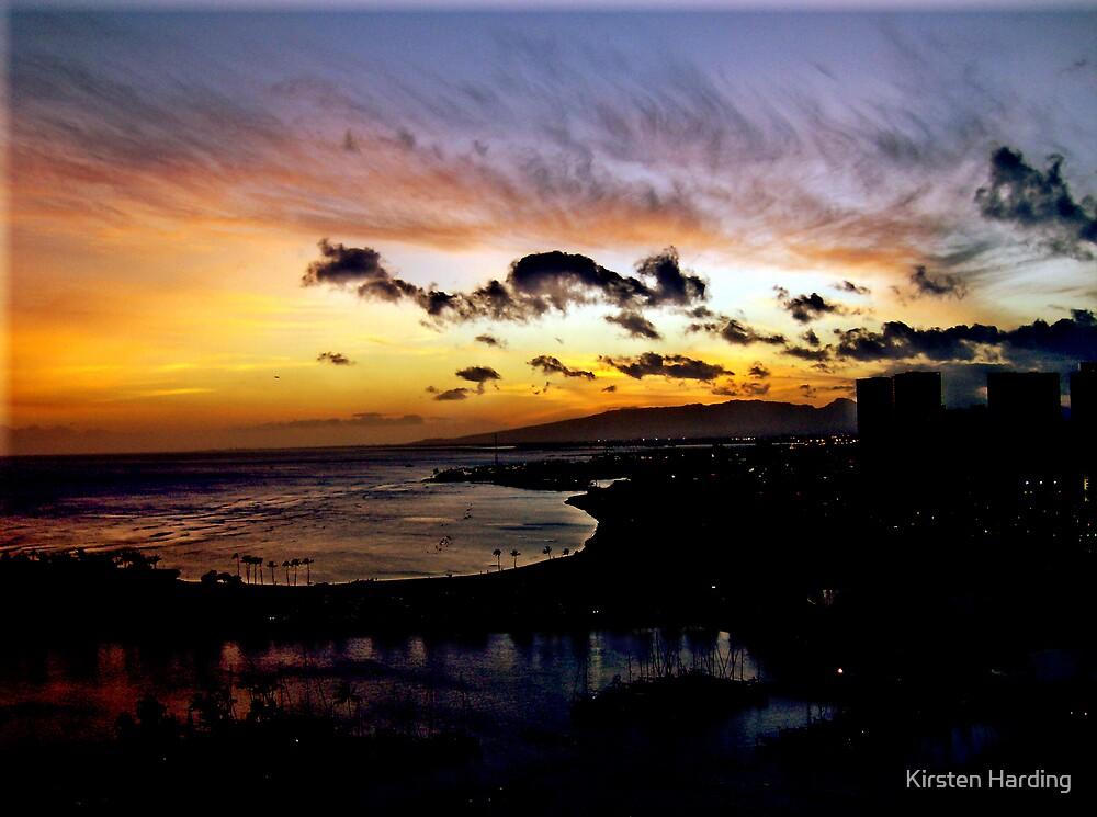 Aloha Sunset by Kirsten Harding