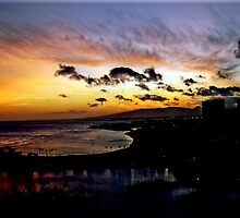 Aloha Sunset by Kirsten Harding