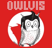 Owlvis - Owl illustration  Kids Clothes
