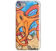 Fancy mr octopus  iPhone Case/Skin
