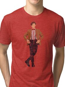 Eleventh Doctor - Doctor Who Tri-blend T-Shirt