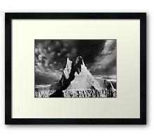 Sunrise over Badlands Castle Trail .4 Framed Print