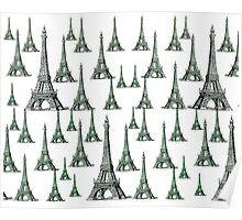 Eifel Tower Graphics Poster