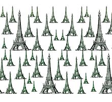 Eifel Tower Graphics Photographic Print