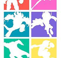 Big Hero 6, colored! by 24julien