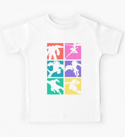 Big Hero 6, colored! Kids Tee