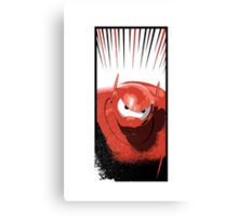 Baymax is angry! Canvas Print