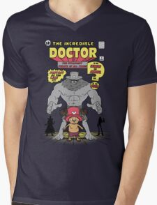 The Incredible Doctor Mens V-Neck T-Shirt