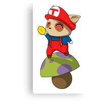 Super Teemo Bros Canvas Print
