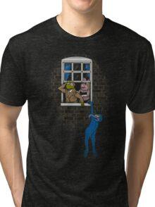 Banksy Muppets Tri-blend T-Shirt