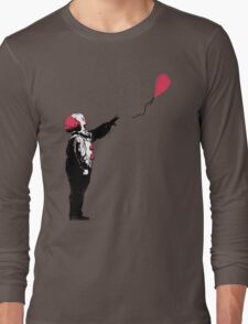 Balloon Clown Long Sleeve T-Shirt