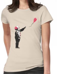 Balloon Clown Womens Fitted T-Shirt
