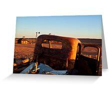 Old Andado Station Simpson Desert Greeting Card