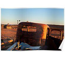 Old Andado Station Simpson Desert Poster