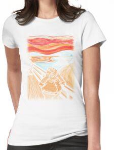 Scream in Quahog Womens Fitted T-Shirt