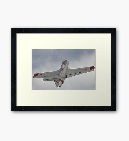 Military jet Framed Print