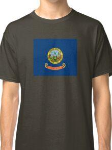 Idaho Flag - USA State Sticker T-Shirt Duvet Classic T-Shirt