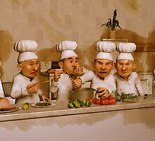 Too Many Cooks Spoil The Broth by Liam Liberty