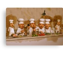 Too Many Cooks Spoil The Broth Canvas Print