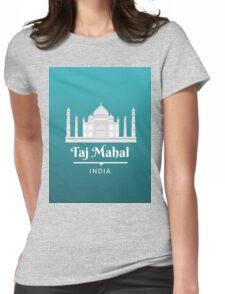Taj Mahal India Womens Fitted T-Shirt