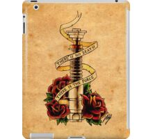 Old School Jedi Code iPad Case/Skin
