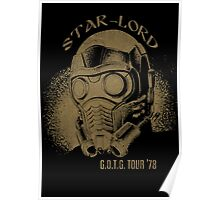 Star-Lord G.O.T.G Tour '78! Poster