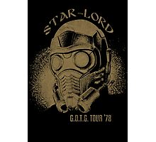 Star-Lord G.O.T.G Tour '78! Photographic Print
