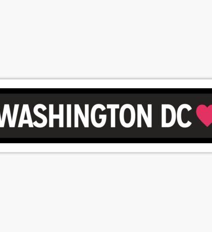 Washington DC Sticker